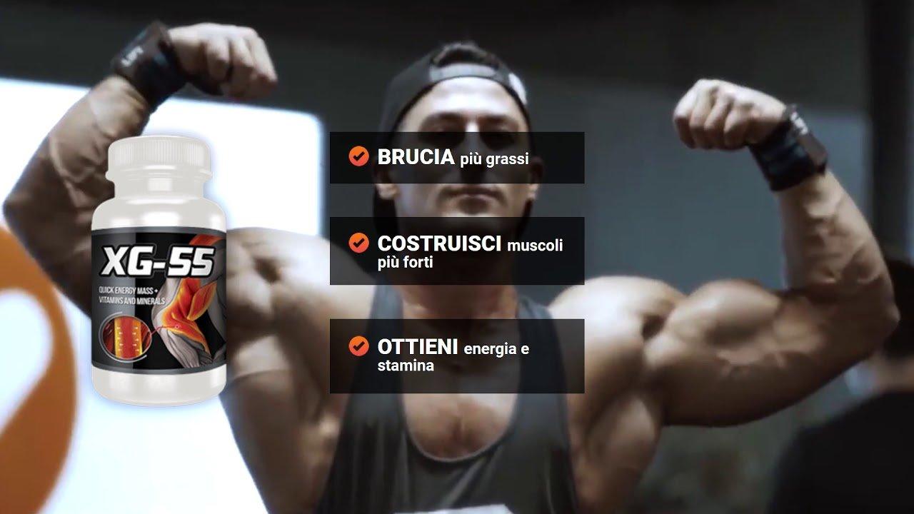 Integratore per aumentare la massa muscolare